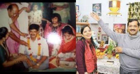 arvind kejriwal & sunita love story