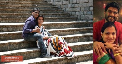 Love story of Bharti and Arvin