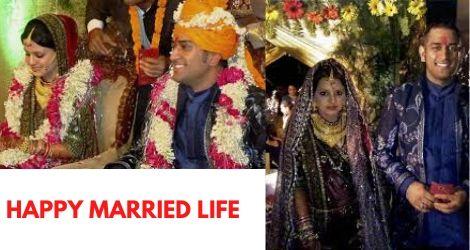 dhoni sakshi love story