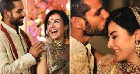 shikhar dhawan & Ayesha Mukherjee love story