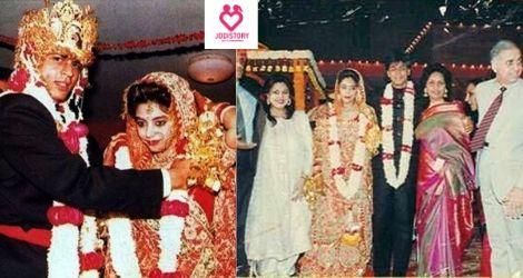 Shahrukh Khan & Gauri love story