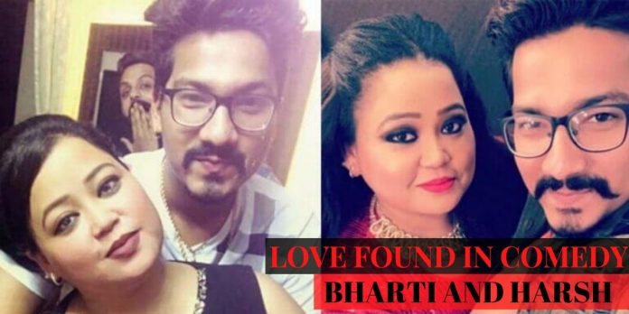SWEET LOVE STORY OF BHARTI AND HARSH: THE LOVE FOUND IN COMEDY