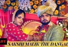 LOVE STORY OF SAKSHI MALIK THE DANGAL GIRL