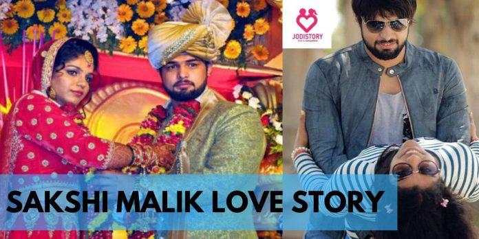 sakshi malik love story