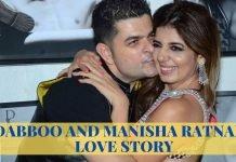 DABBOO AND MANISHA RATNANI LOVE STORY: THE MIX OF FASHION & LOVE