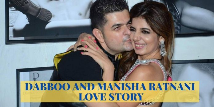 DABBOO AND MANISHA RATNANI LOVE STORY: THE MIX OF FASHION & LOVE