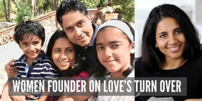 WOMEN FOUNDER ON LOVE'S TURN OVER: SUCHI MUKHERJEE'S LOVE STORY
