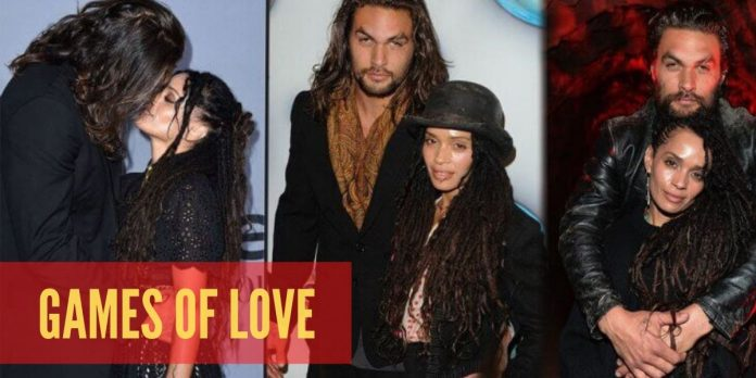 LOVE STORY OF JASON MOMOA AND SIMMONE: GAMES OF LOVE