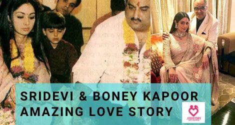 sridevi love story & relationship