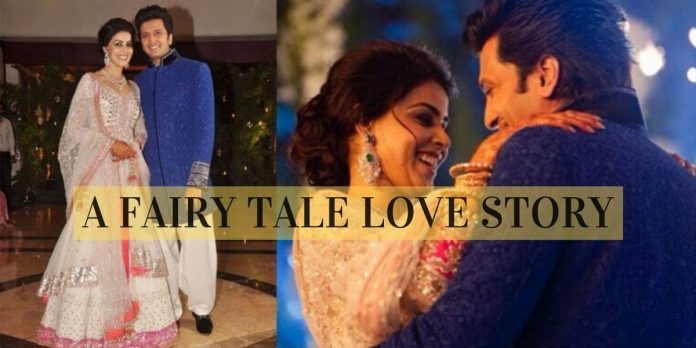 RITESH AND GENELIA LOVE STORY: A FAIRY TALE LOVE STORY