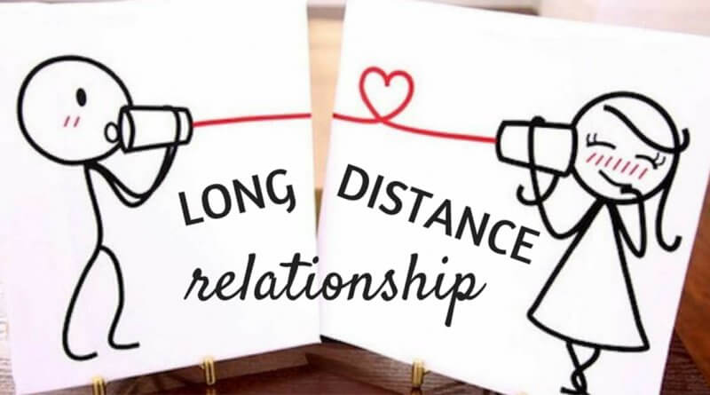 Happy long distance relationship
