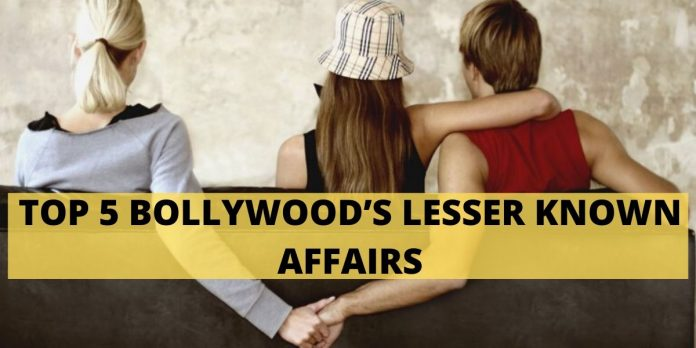 TOP 5 BOLLYWOOD'S LESSER KNOWN AFFAIRS