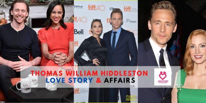 Thomas William Hiddleston love story.