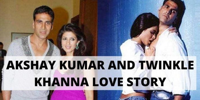 AKSHAY KUMAR AND TWINKLE KHANNA LOVE STORY: BOLLYWOOD STARS START-STRUCK IN LOVE