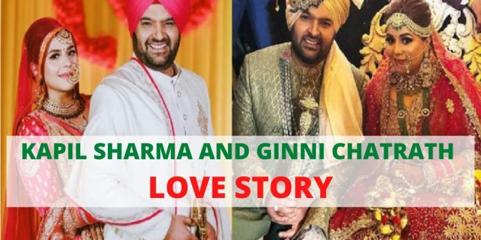 "KAPIL SHARMA AND GINNI CHATRATH LOVE STORY: ""NOT ANOTHER KAPIL JOKE"""