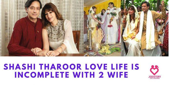 shashi tharoor love story