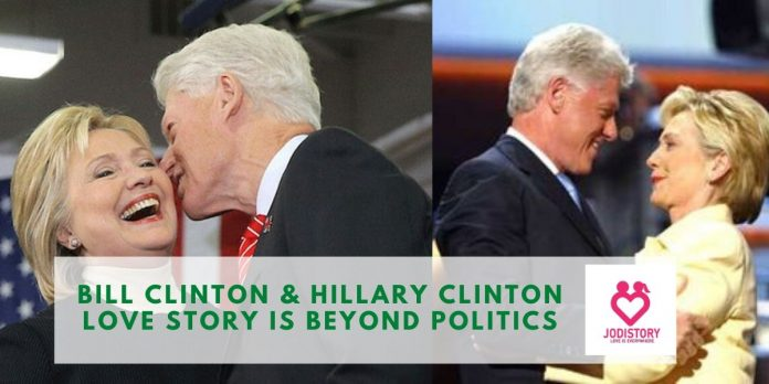 Bill Clinton & Hillary Clinton love story