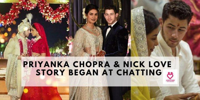 priyanka chopra nick love story