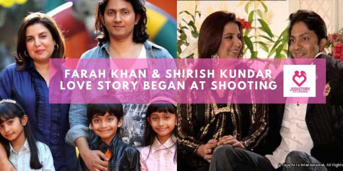 farah khan & shirish kundar love story