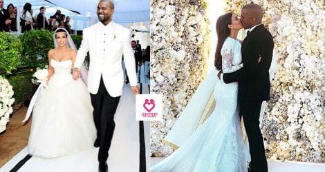 Kim kardashian & Kanye west love story