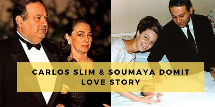 Carlos Slim & Soumaya Domit love story