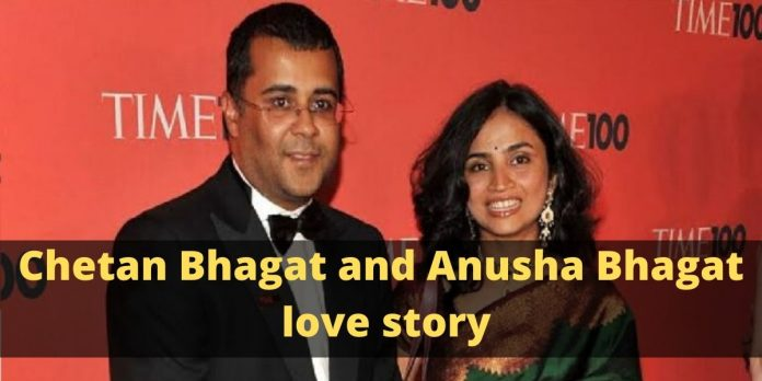 Chetan Bhagat and Anusha Bhagat love story: 2 states and 1 soul