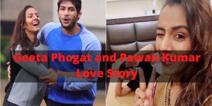 Geeta Phogat and Pawan Kumar Love Story : Love Game well played