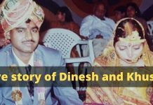 Love story of Dinesh and Khusha: LOVE CAN CONQUER IT ALL