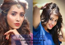 Asha Negi love life in live in relationship