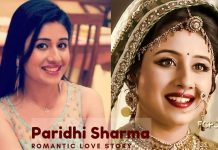 Paridhi Sharma true love story