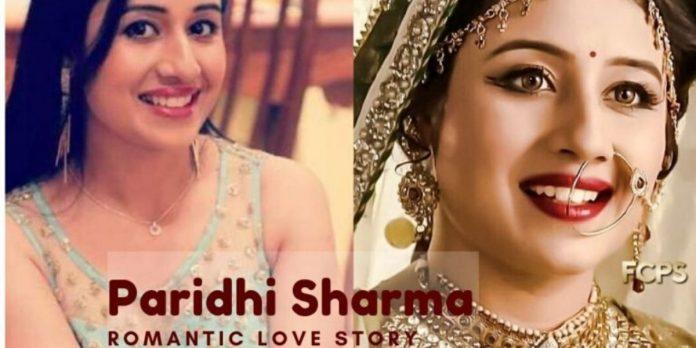 Paridhi Sharma Real To Reel Love Story