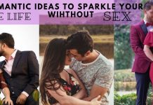 couple relationship idea with sex