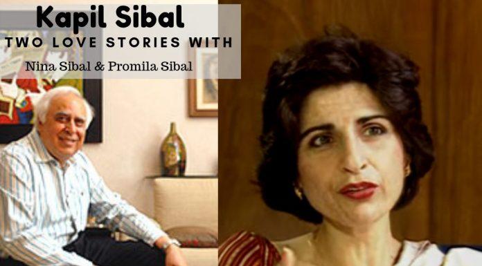Kapil Sibal two love stories