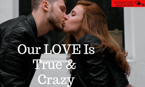 Romantic love quote for him and her