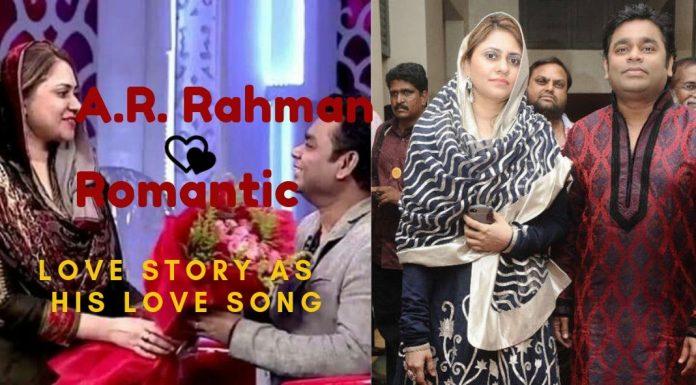 A R Rahman love song love story