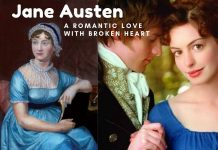 Jane Austen romantic love with broken heart
