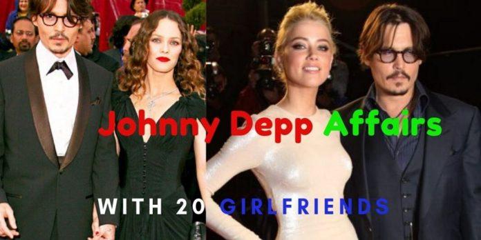 Johnny Depp Affairs