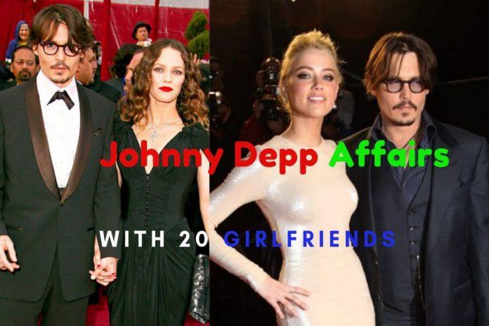 Johnny depp girlfriends