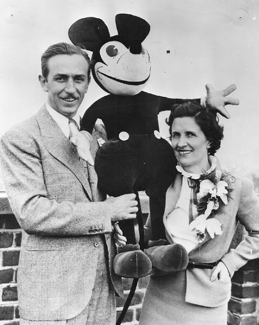 Walt Disney love story beyond mickey mouse