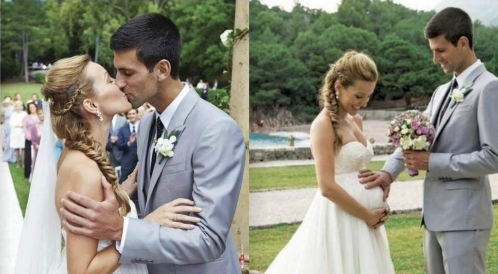 Novak Djokovic true love story with Jelena Ristic
