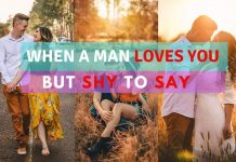 signs a man likes you