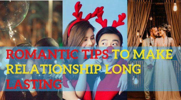 romantic ways for long lasting relationship