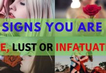 Love vs Infatuation Sign:10 Tips Know Before Fall in Love