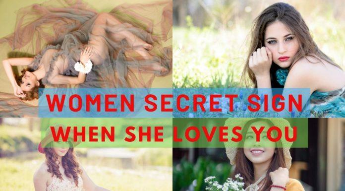 behaviour of woman in love