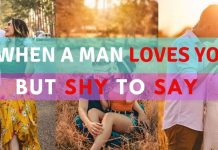 10 SECRET SIGNS A MAN LIKES YOU, BUT SHY TO SAY