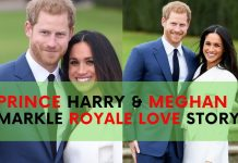 prince harry meghan markle love story