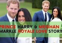 prince harry meghan markle love story