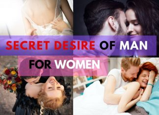secret desire of a man for women