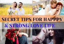 tips for happy & strong love life