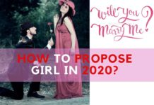 how to propose girl in 2020